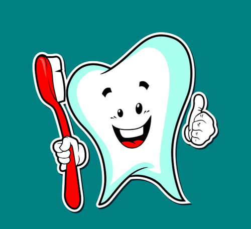 Borsta tänderna, men var försiktig